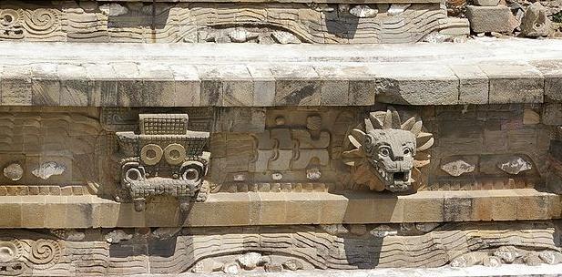 Quetzalcoatl Temple Mexico
