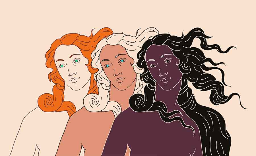 The five female Olympians of the Ancient Greek Pantheon. Source: local_doctor / Adobe Stock