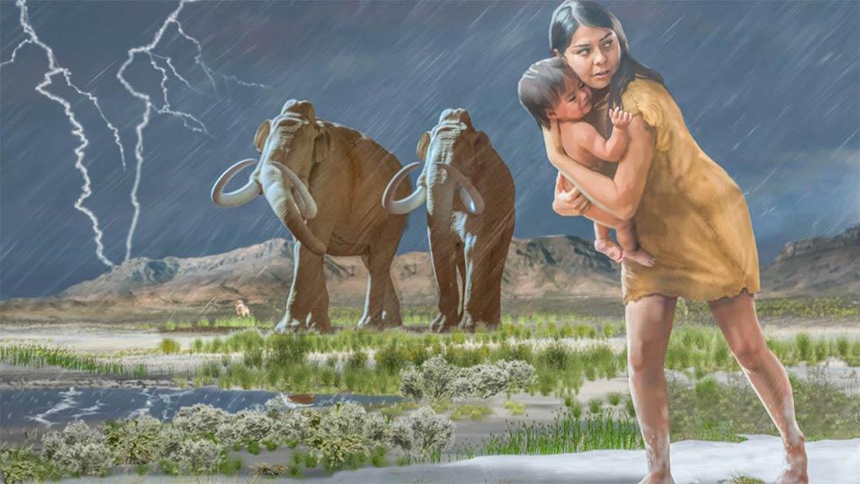 10,000-Year-Old Footprints Tell Amazing Story of Human Encounter with Megafauna