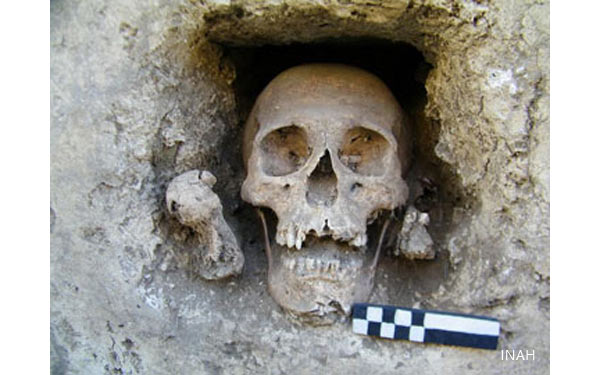 God of Death Shrine Unearthed in Mexico