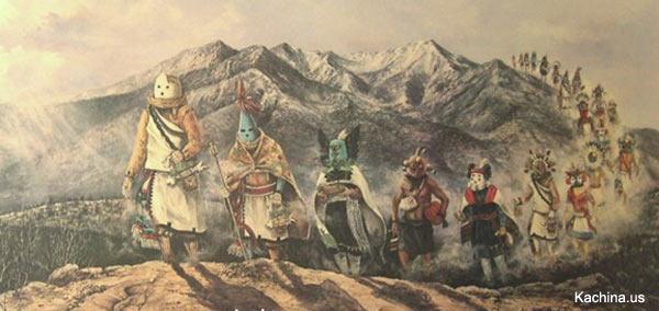 Kachinas - the Gods of the Hopi