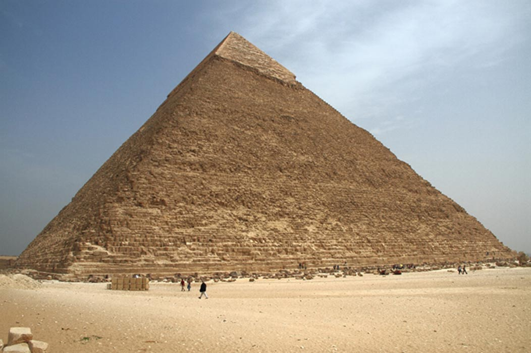 Great Pyramid of Giza Was Lopsided Due to Construction ...