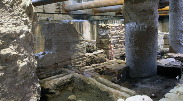 Construction Work In Greece Uncovers Byzantine Pompeii