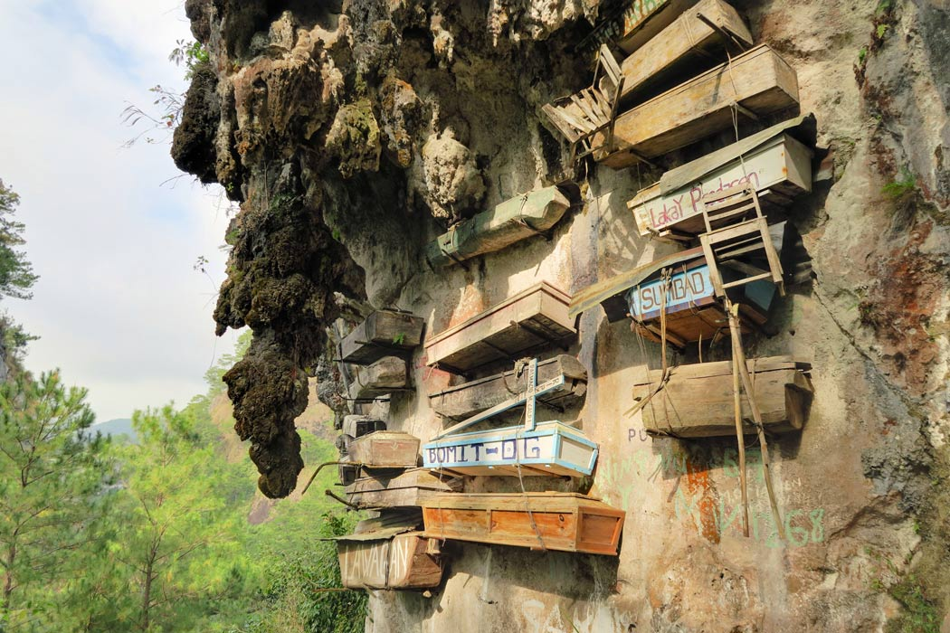 The Hanging Coffins of Sagada, Philippines