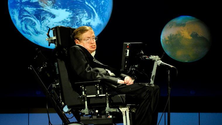 Stephen Hawking, Mankind Survival in Space