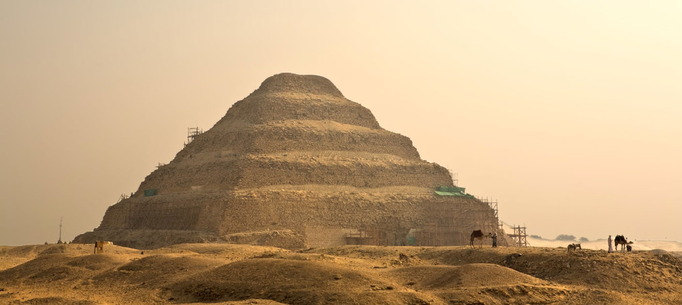 The hidden pyramid for Pharaoh Userkare may be in Saqqara, home to Djoser's famous step pyramid. Source: Juan Aunión /Adobe Stock