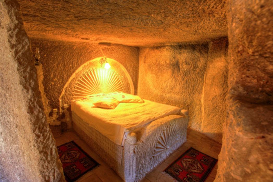 A traditional bedroom in Cappadocia, Turkey. Credit: EvanTravels / Adobe Stock