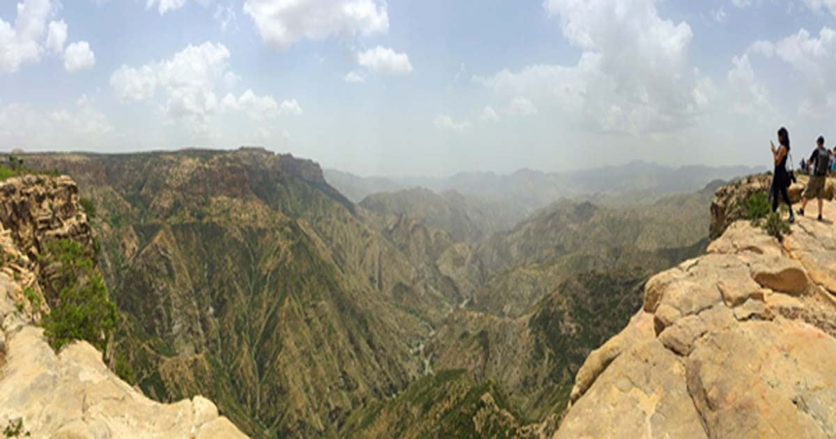 Eritrean Grand Canyon, East African rift valley.