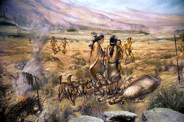 Early inhabitants of America - Idaho