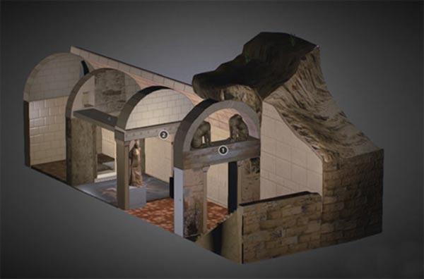 Inside Amphipolis Tomb