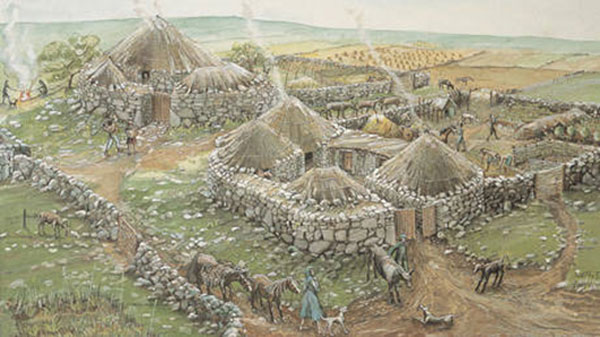 Iron Age Settlement in Scotland