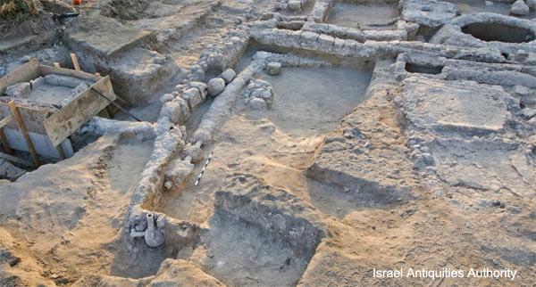 Ancient Israel Fountain