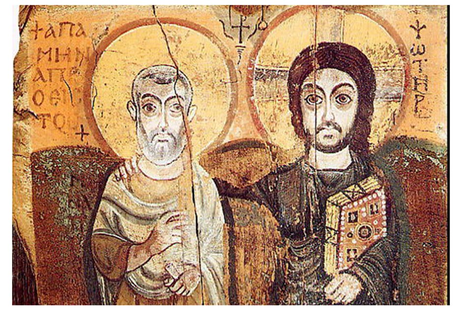 The Famous Egyptian Martyr Saint Menas and His Shrine at Abu Mina