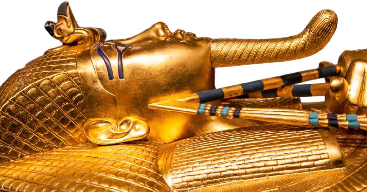 King Tut's sarcophagus. Source: Jaroslav Moravcik / Adobe Stock.