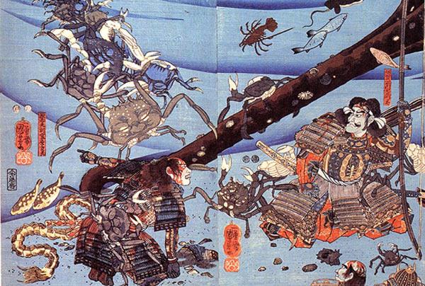 The legend of Heikegani: the Samurai ghost crabs