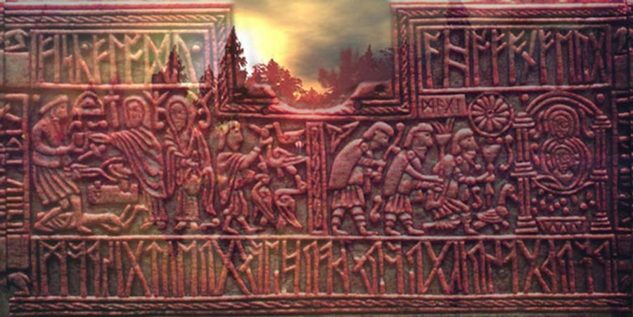 The futhark on the Vadstena bracteate.