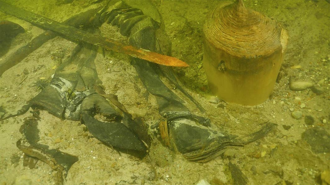 Medieval Soldier's Remains Found in a Lithuanian Lake
