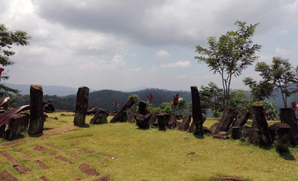 Megalithic site of Gunung Padang