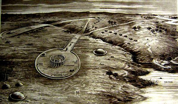Underground Monuments in Stonehenge