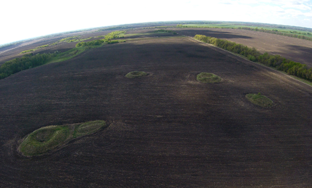 Ancient Earthworks  in the Ukraine may be the biggest Solar Observatory in the World.