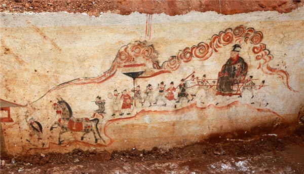 Stunning murals uncovered in ming dynasty tomb ancient origins murals uncovered in ming dynasty tomb fandeluxe Gallery
