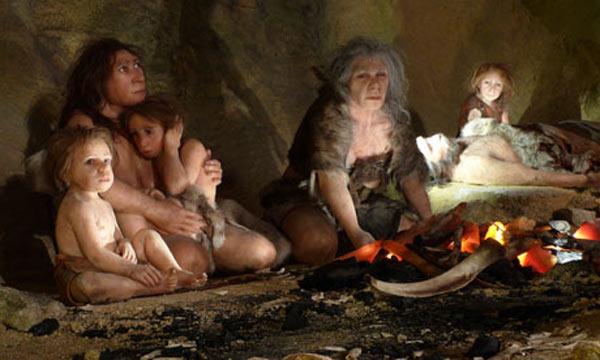 Neanderthals Parenting