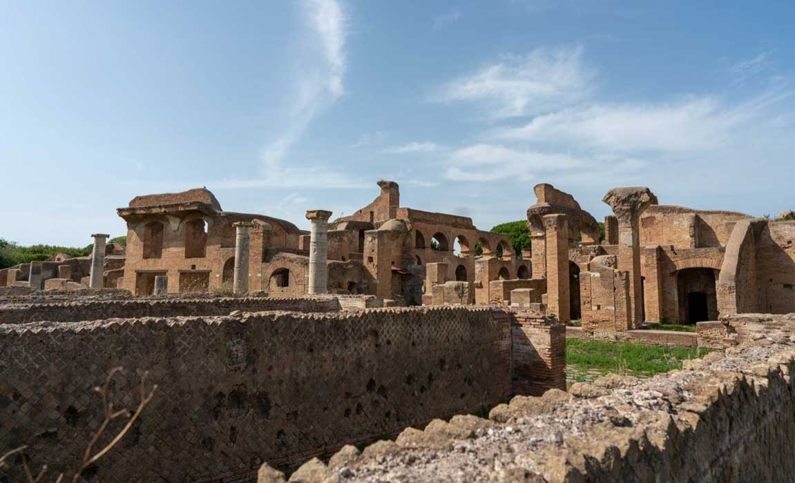 Ostia Antica the first Roman colony. Source: Ioannis Syrigos.