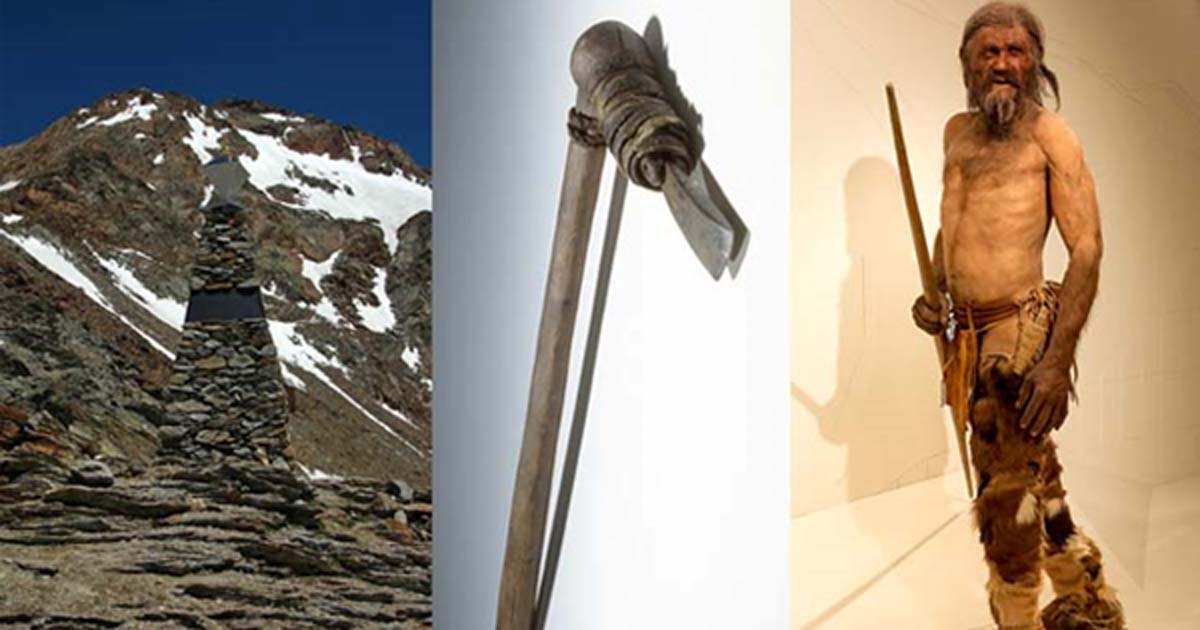 Ötzi's Ancient Axe is from Tuscany, Giving Firm Evidence of Neolithic Travel and Trade