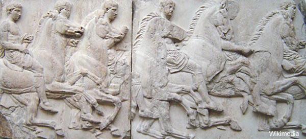 Parthenon Marbles - Acropolis