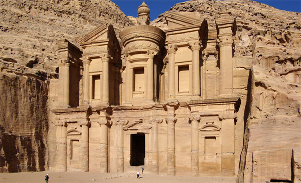 The Lost City of Petra in Jordan