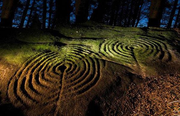 Historically important prehistoric rock art sites in