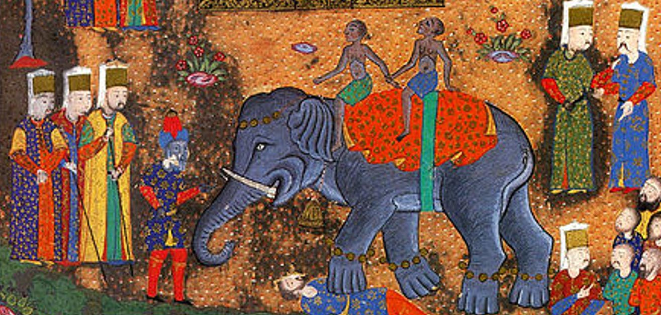 Execution by elephant a gory method of capital punishment 16th century depiction of execution of a prisoner by ottoman soldiers buycottarizona