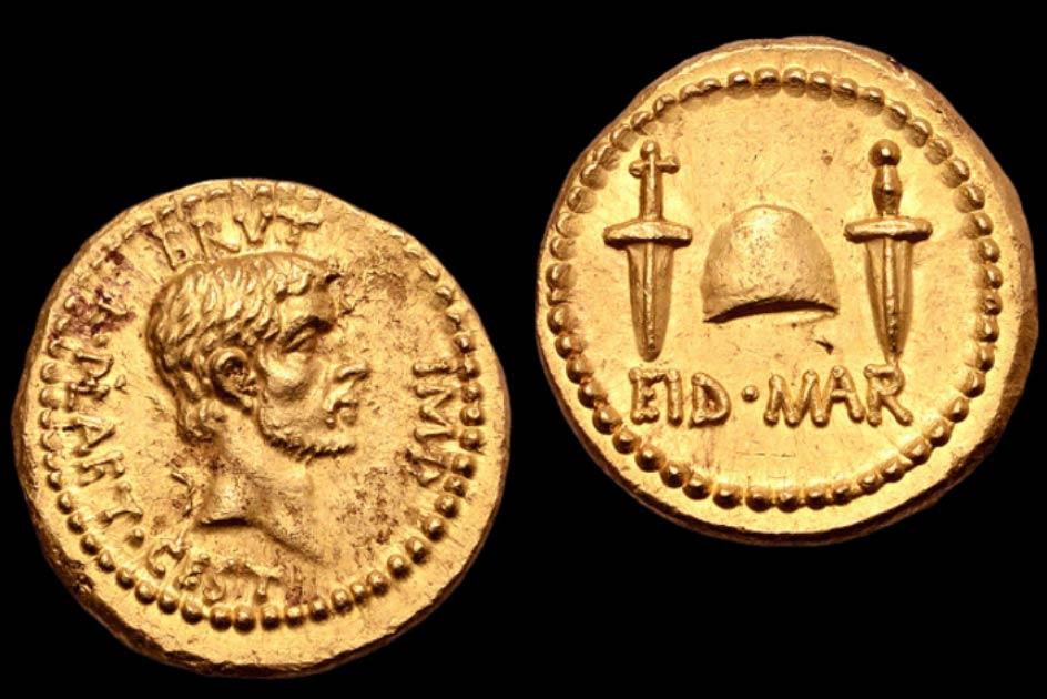 Rare Coin Celebrating Caesar's Assassination Might Fetch £5 Million