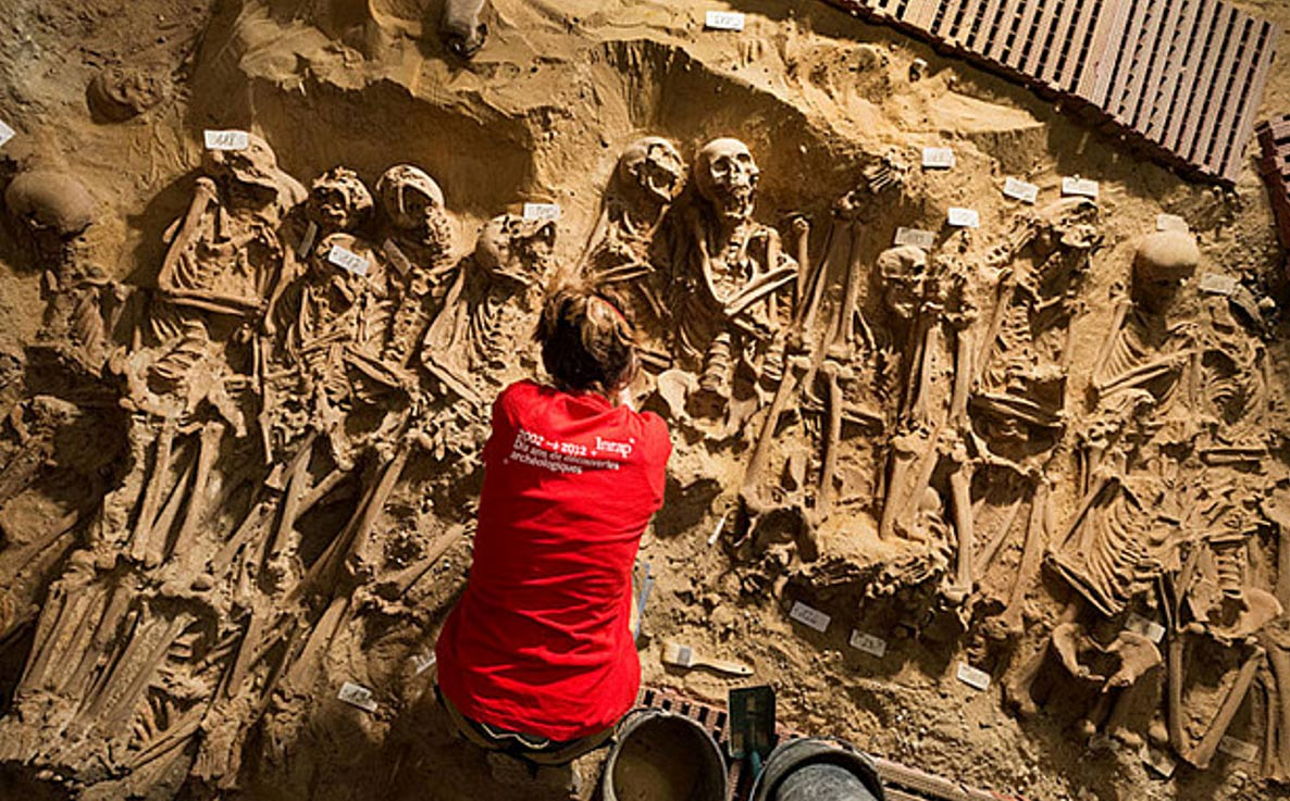 Archaeologists with the French National Institute for Preventive Archaeological Research (INRAP) plan to test the DNA of the remains.