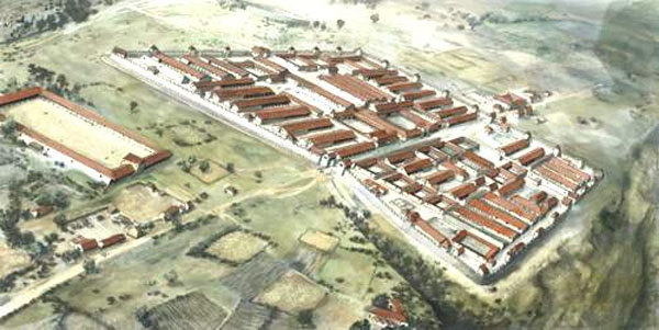 Massive Roman military camp in Germany