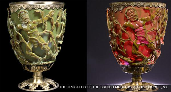 Goblet - Romans Used Nanotechnology