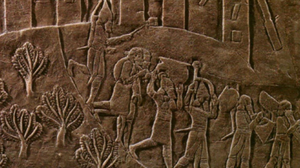 What befell the ancient Elamite city of Haft Tappeh? Detail of the sack of Susa.