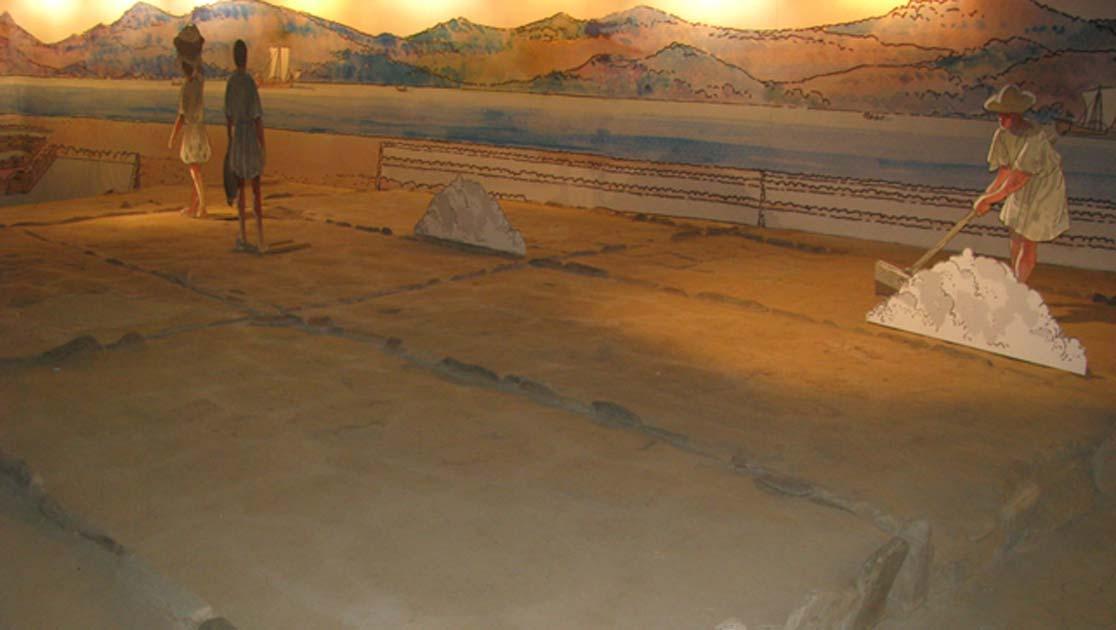 Exhibition showing salt production in Museo do Mar in Vigo, Spain. Source: Natalia Klimczak