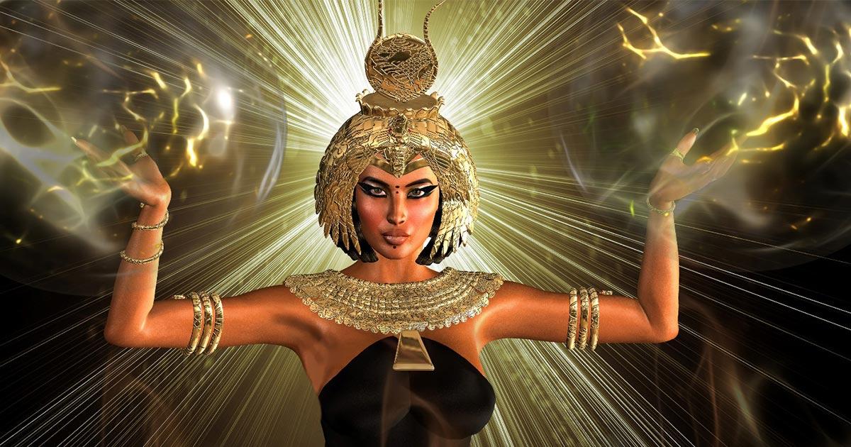 Ancient Egyptian Goddess. Credit: tk0920 / Adobe Stock