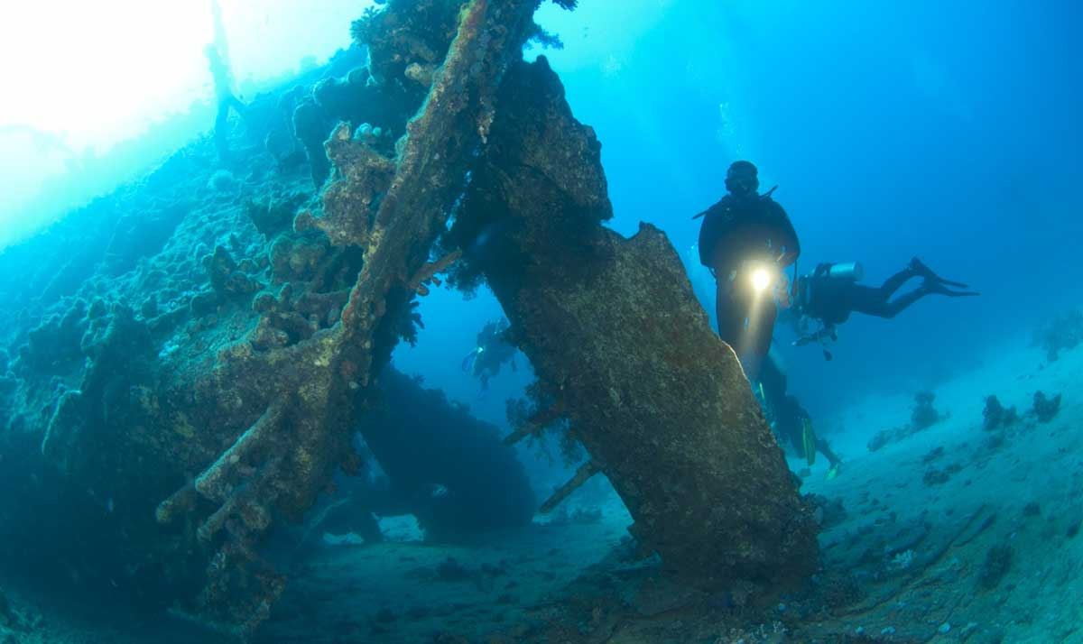 Researchers study a ship graveyard discovered in the Black Sea. Source: Paul Vinten / Adobe Stock.