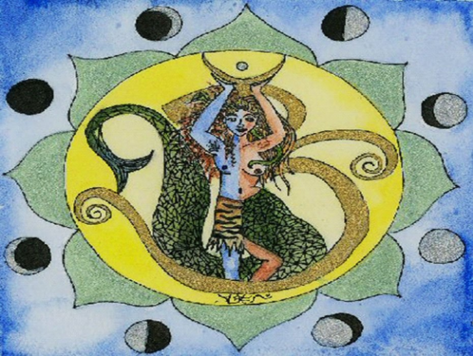 An image of the god Soma and its representations.