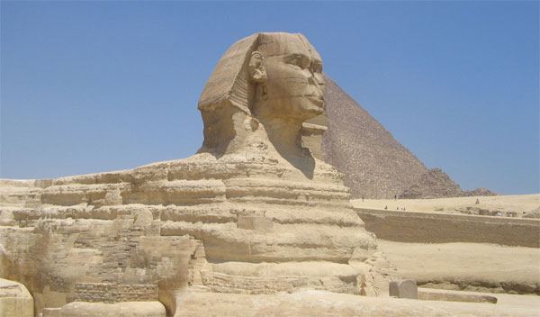 Great Pyramid of Giza - monument of creation