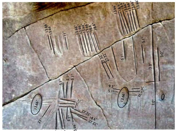 Kharga Oasis spider rock art