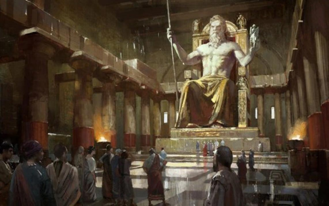 Wonder of the Ancient World: The Grand and Powerful Statue of Zeus ...
