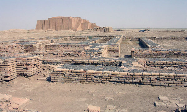 Ancient Sumerian Temple