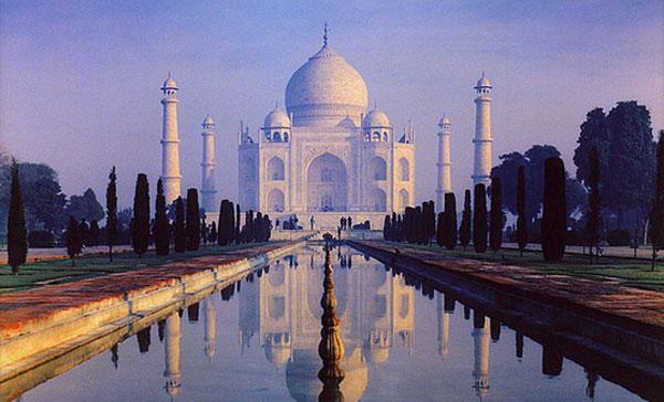 Moonlight Garden Taj Mahal
