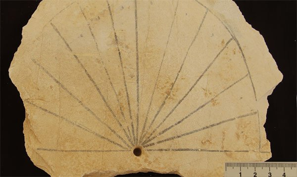 Ancient Sundial Discovered In The Valley Of The Kings