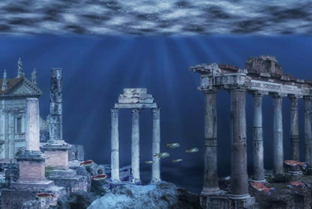 10 Sensational Sunken Kingdoms: Atlantis' Companions Beneath the