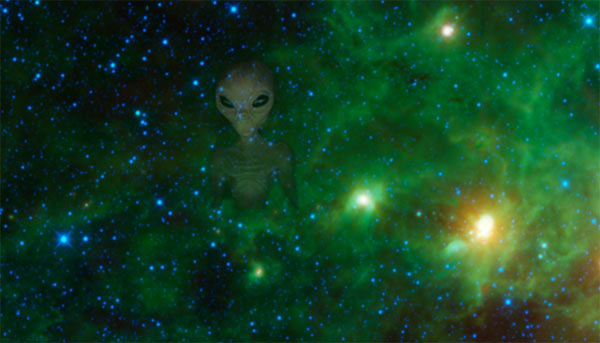 Infrared Telescope in search of extra-terrestrial life