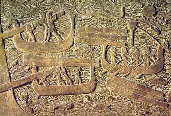 The Teresh of The Sea Peoples